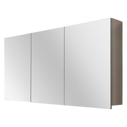 Differnz spiegelkast Style 120cm grijs eiken