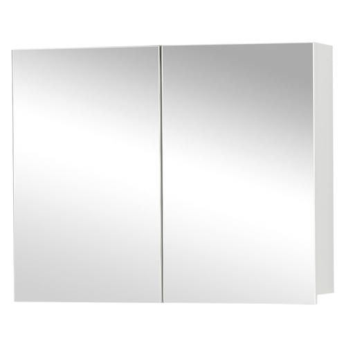 Differnz spiegelkast Style 90cm mat wit