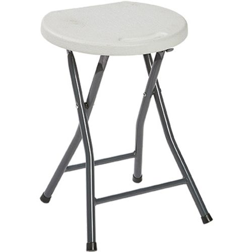 Tabouret de jardin 'Party' gris