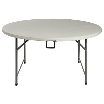 Table pliante Party blanc rond Ø152cm