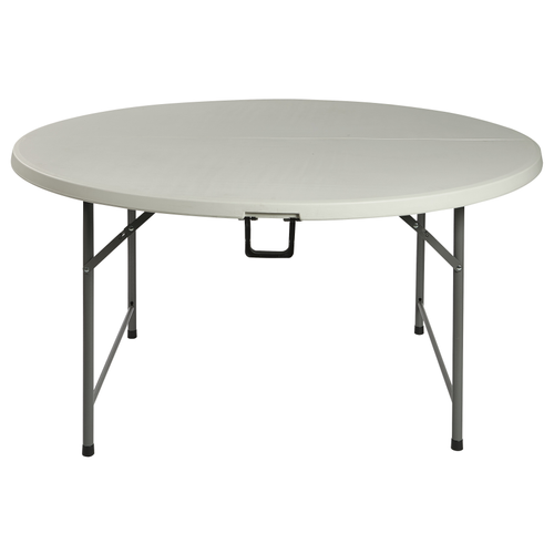 Table pliante Party blanc rond Ø152cm