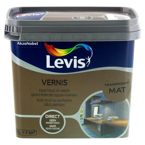 Vernis Levis transparent mat 750ml