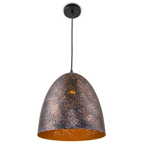 Suspension Home Sweet Home 'Rusty C' brun 60W