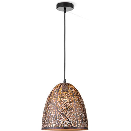 Suspension Home Sweet Home 'Rusty D' brun 60W