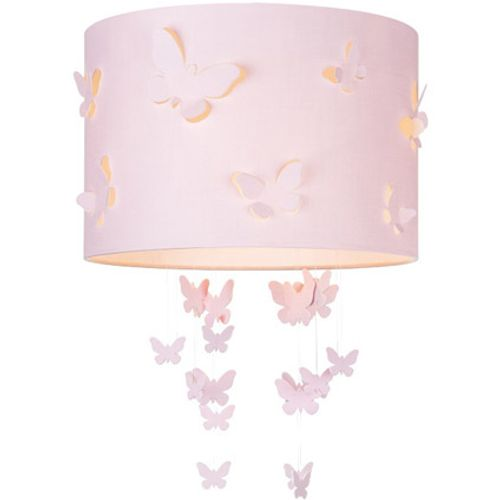 Home Sweet Home lampenkap Fly 30 cm roze