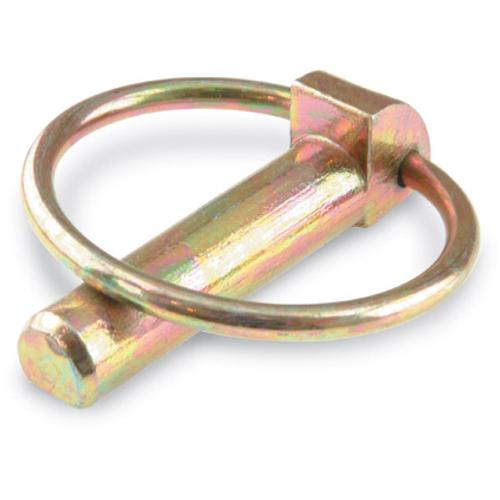 Suki splitpen met ring verzinkt staal diam. 8 mm