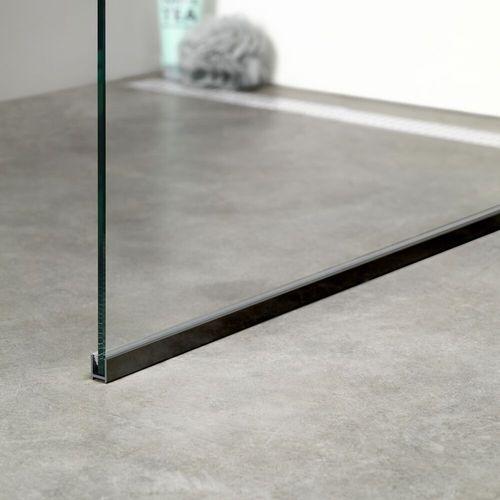 Sealskin get wet I AM vloerprofiel 150cm mat zwart