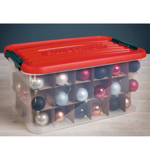 Allibert opbergdoos Xmas Box transparant 50L