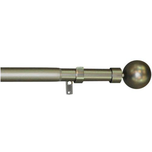 Mobois kit gordijnroede ijzer 120 à 210 cm