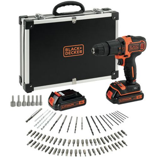 Black+Decker BDCHD18BAFC-QW accuschroef- en klopboormachine 18V