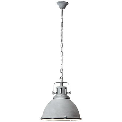 Brilliant hanglamp Jesper grijs Ø38cm
