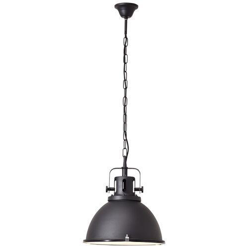 Brilliant hanglamp Jesper zwart Ø38cm