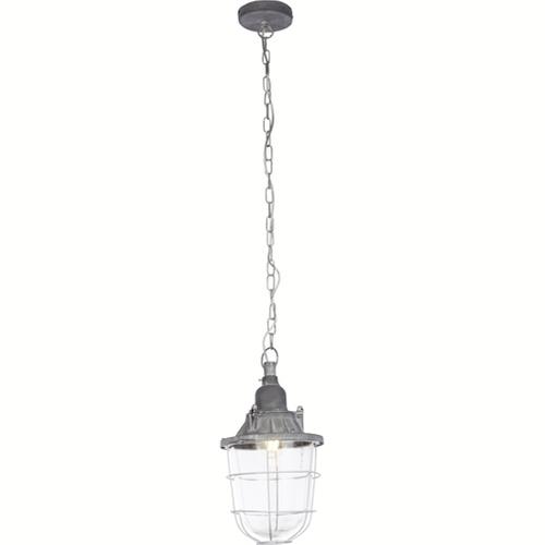 Brilliant hanglamp Storm grijs Ø21cm