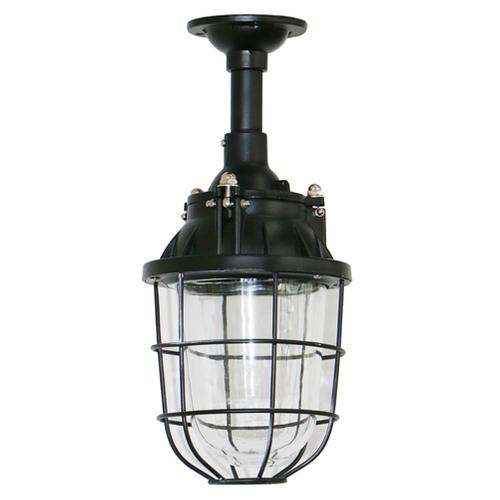 Brilliant plafondlamp Storm zwart Ø16cm