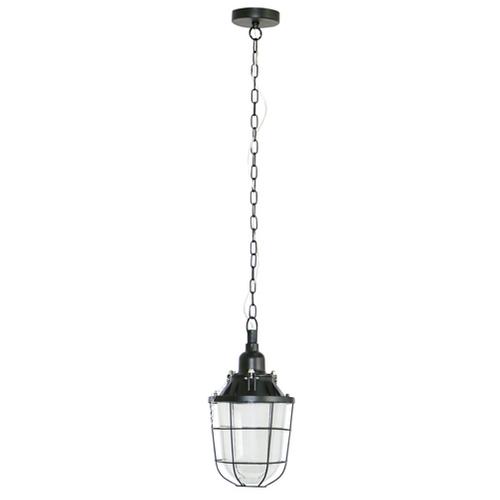 Brilliant hanglamp Storm zwart Ø21cm