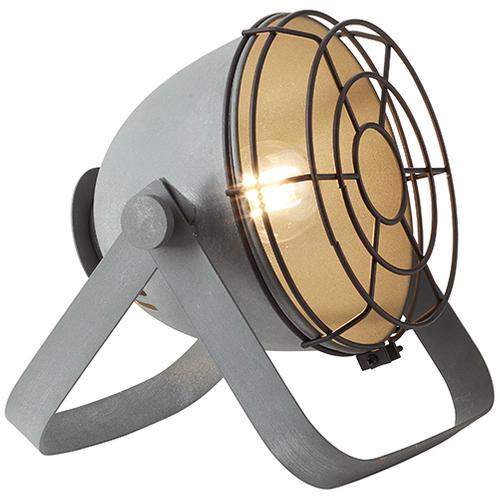 Brilliant tafellamp Bo grijs