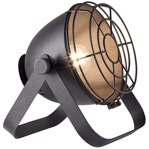 Brilliant tafellamp Bo zwart