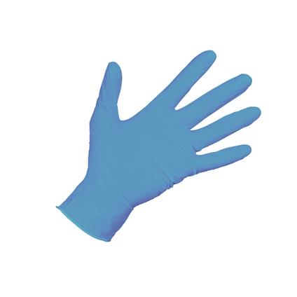 Nitril handschoen xl blauw 100st