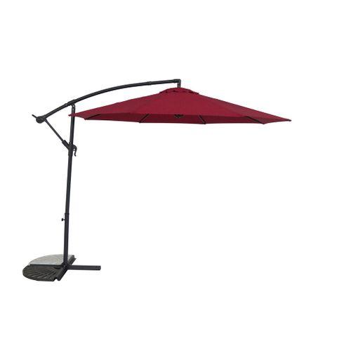 Central Park parasol Daze 2,9m rood