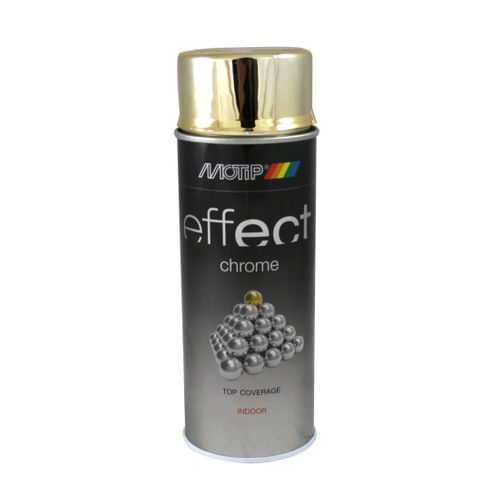 MoTip Deco Effects chroomlak hoogglans goud 400ml