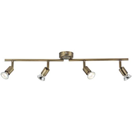Baseline spotlamp 'Moskou' brons 4x3,5W