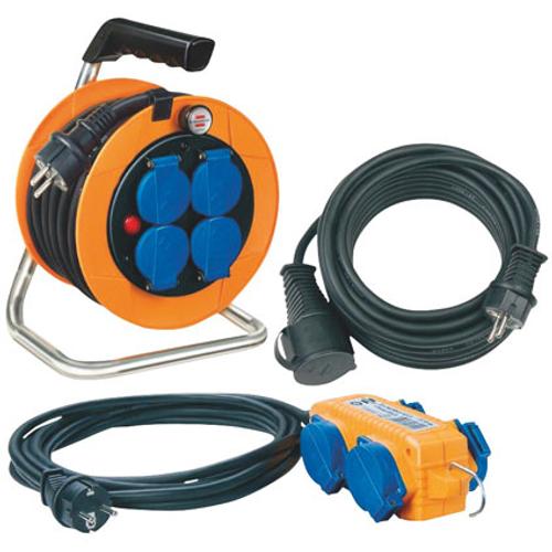 Enrouleur de câble Brennenstuhl 'Power Pack' 20 m