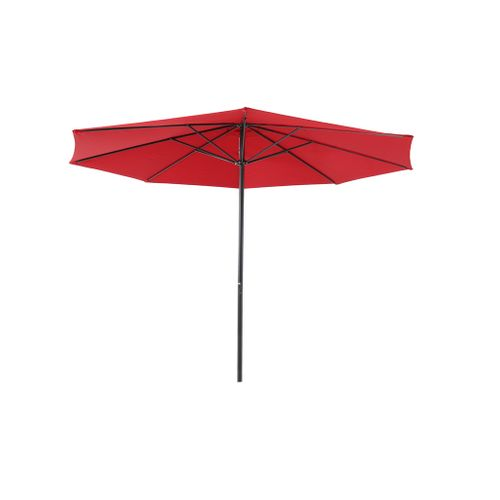 Central Park parasol Sunny 3,36m rood