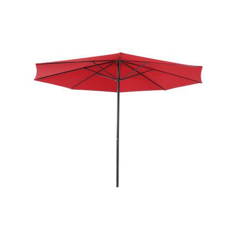 Central Park parasol Sunny 3,36m rood