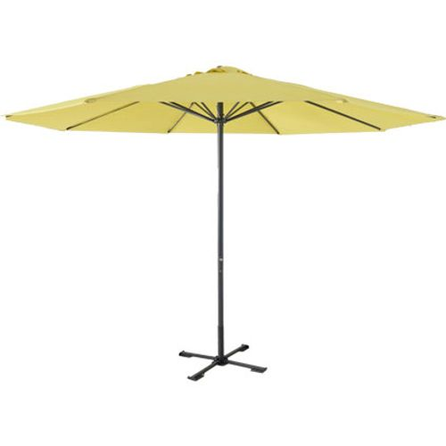 Central Park parasol 'Sunny' geel 3,5 m