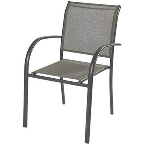 Chaise de jardin Central Park 'Bea' anthracite