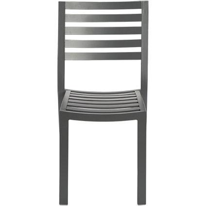 Chaise de jardin Central Park 'Vina' gris