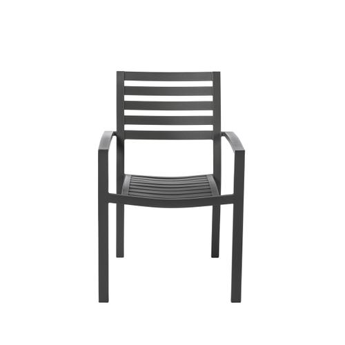 Chaise de jardin Central Park 'Vina' anthracite