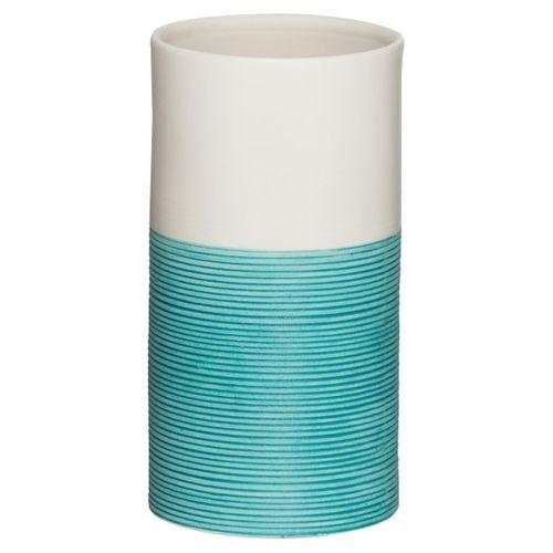 Gobelet Sealskin Doppio porcelaine aqua bleu