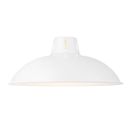 Abat-jour Home Sweet Home 'Altis' blanc Ø 30,5 cm