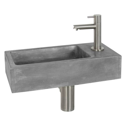 Differnz fonteinset Juti beton 38x18,5x9cm