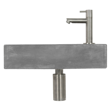 Differnz toiletfontein Juti 38,5x18,5cm beton