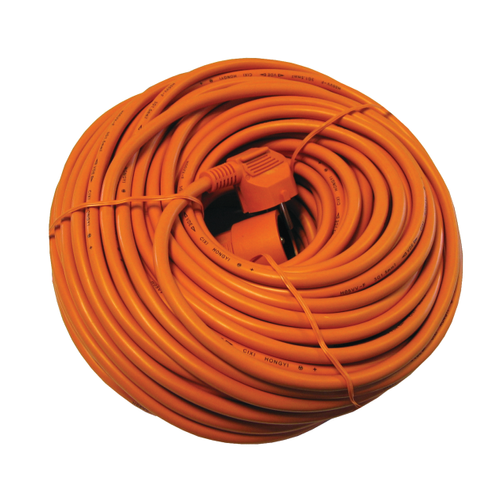 Chacon verlengsnoer HO5VVF 20m 3x1,5mm oranje