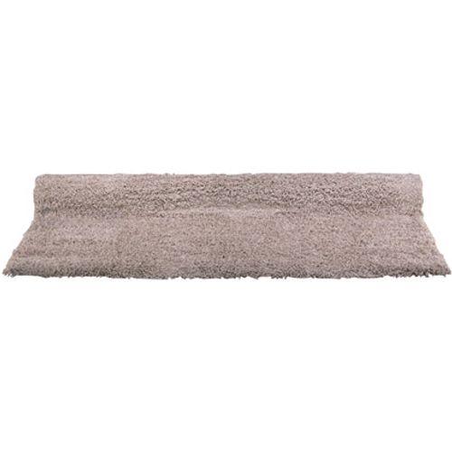 Vloerkleed Carice hoogpolig comfort taupe 160 x 230 cm