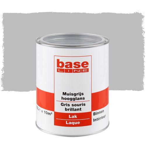 Laque Baseline gris souris brillant 750ml