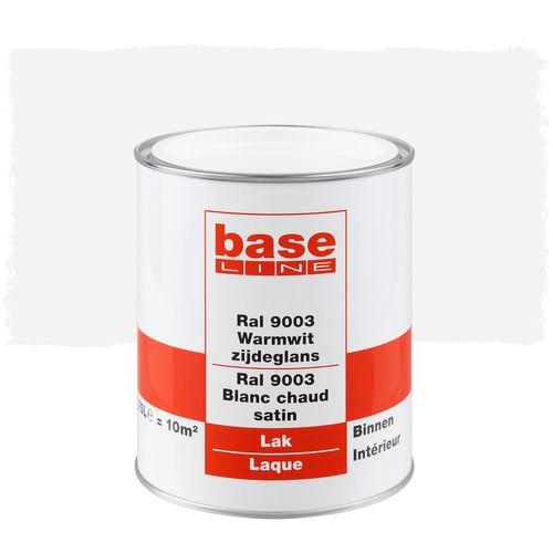 Laque Baseline blanc satin 750ml