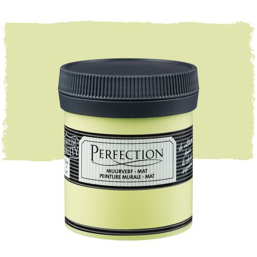 Perfection muurverf tester Ultradekkend mat anijsgroen 75ml