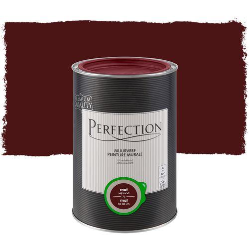 Peinture murale Perfection ultra couvrantLie de vin 1L