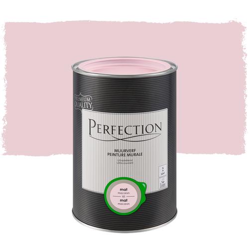 Perfection muurverf ultradekkend mat macaron 1L