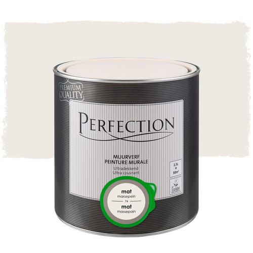 Perfection muurverf ultradekkend mat marsepein 2,5L