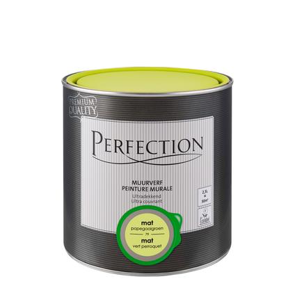 Perfection muurverf ultradekkend mat papegaaigroen 2,5L