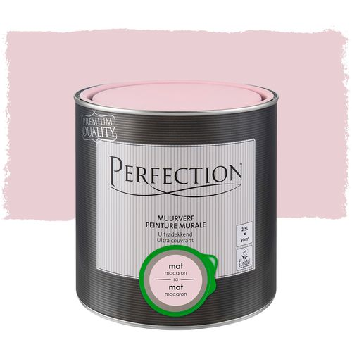 Peinture murale Perfection ultra couvrant macaron 2,5L