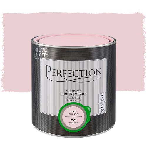 Perfection verf muur mat macaron 2,5L