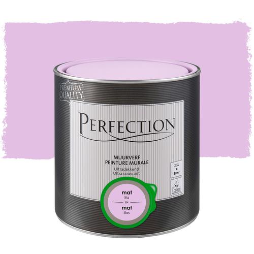 Perfection muurverf ultradekkend mat lila 2,5L