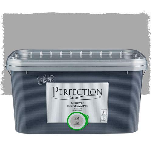 Perfection muurverf ultradekkend mat muisgrijs 5L