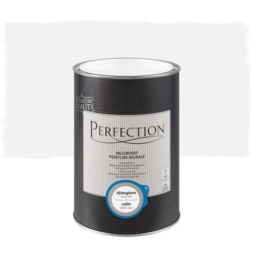 Perfection muurverf Ultradekkend zijdeglans puur wit 1L